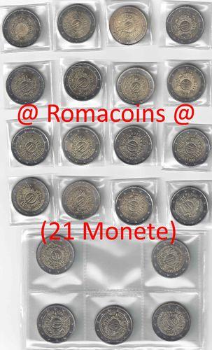 8786cf8dfd Collezione Completa 2 Euro Commemorativi 2012 10 Anni Euro Roma