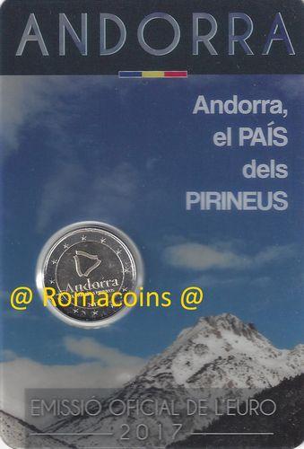 Coincard Andorra 2018 2017 2016 Kms 2 Euro Sondermünzen Münzen