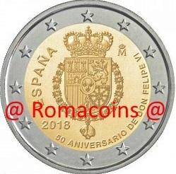 Spain 2 euro 11 coins 2005-2015 UNC Spagna Espagne Espana Spanien FDC