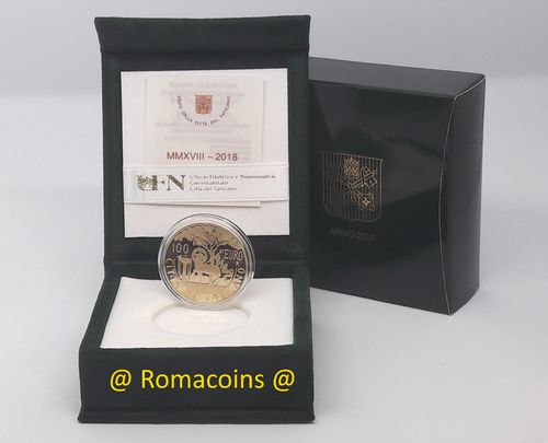 100 Euro Vatican 2018 Gold Proof