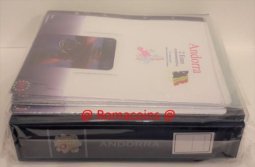 Album Binder for Andorra Coincards 2014 - 2018