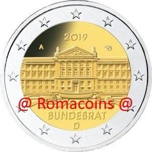 Germany 2019-2 Euro Bundesrat Random Mint UNC