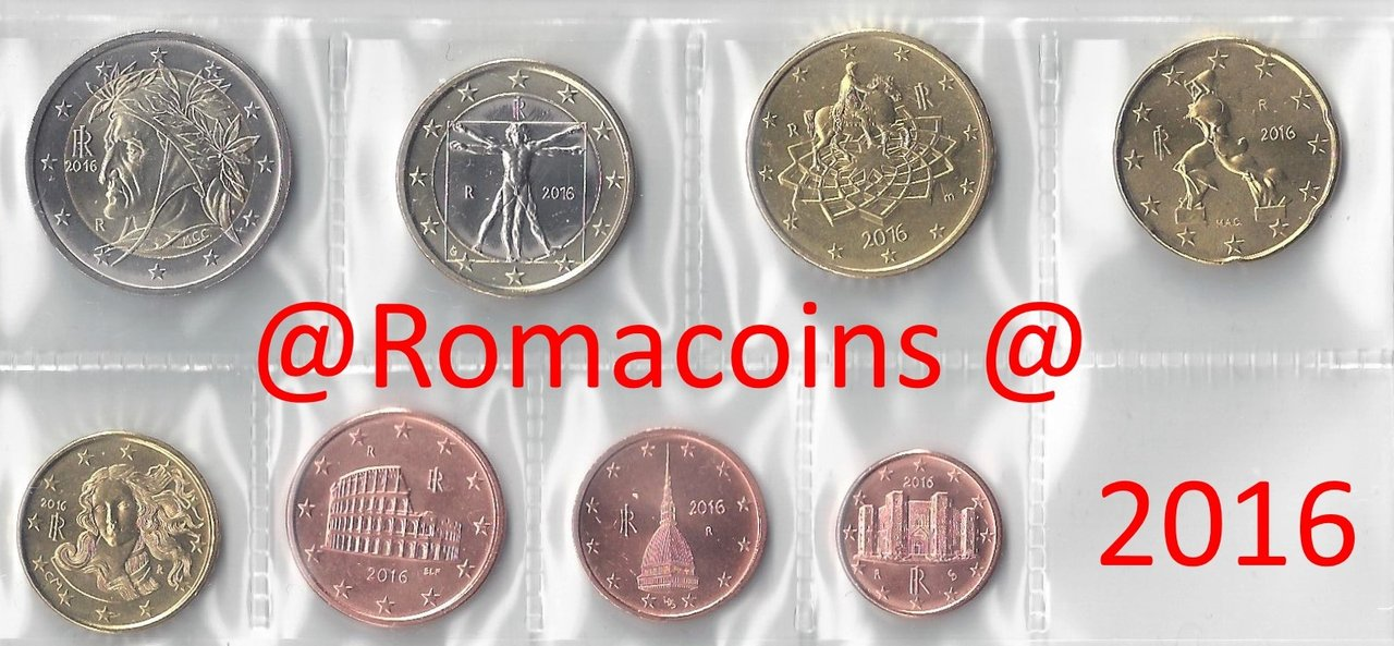 CYPRUS 2018 COMPLETE EURO COINS SET UNC IN NICE PACKING