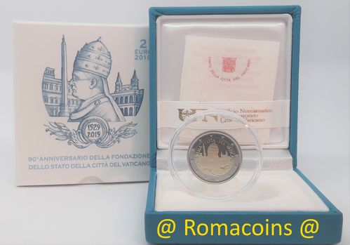 2 Euro Commemorative Coin Vatican 2019 Proof Be