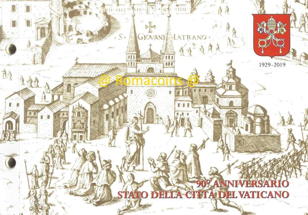 Sistine Chapel IN STOCK VATICAN 2 EURO 2019 Numismatic Philatelic Cover