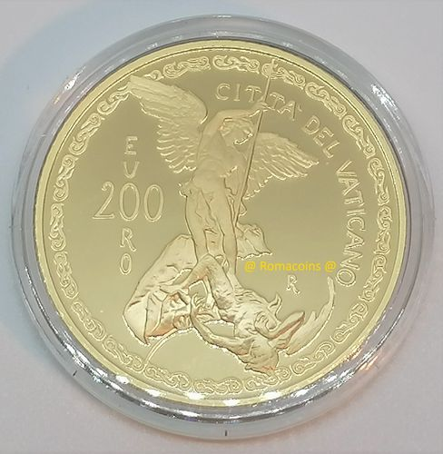 200 Euro Vatican 2019 Gold Coin Proof