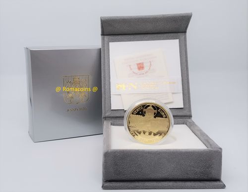 100 Euros Vaticano 2020 Moneda Oro Proof